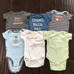 3 for $20 Baby boys onesies lot